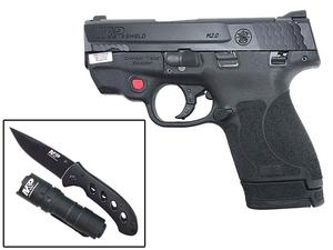Smith & Wesson M&P 9 Shield M2.0 W/ Crimson Trace Laser and EDC Kit