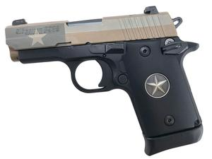 Sig Sauer P938 Texas Flag NS 9mm Sub-Compact 7-Round Pistol - Handgun Semiauto Center Fire at Academy Sports