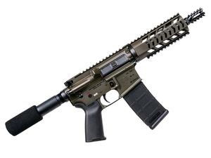 "Diamondback DB-15 5.56mm 7.5"" Quad Rail Pistol - OD Green"