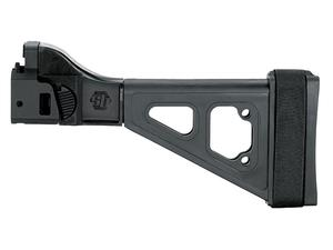 SB Tactical Scorpion EVO Pistol Brace. Side Folding, Black