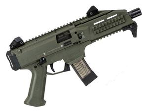CZ Scorpion EVO 3 S1 9mm Pistol 1/2x28 OD Green