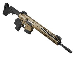 "LWRC CSASS 16"" FDE Rifle - CA Featureless"