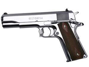 Colt 1911 Government .45 ACP Polished Stainless