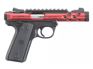 "Ruger Mark IV 22/45 Lite 4.4"" .22LR Red TB"