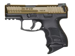 HK VP9SK 9mm Pistol LE Tritium Night Sights Bronze/Black