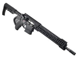 "POF Revolution .308/7.62mm 16.5"" Rifle Black - Factory CA Featureless"